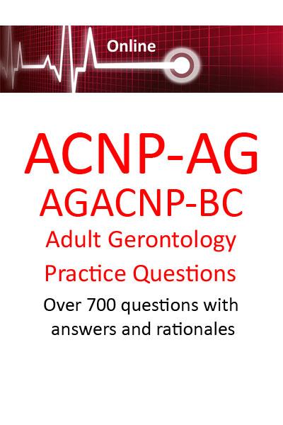 Adult Gerontology Certification Practice Questions