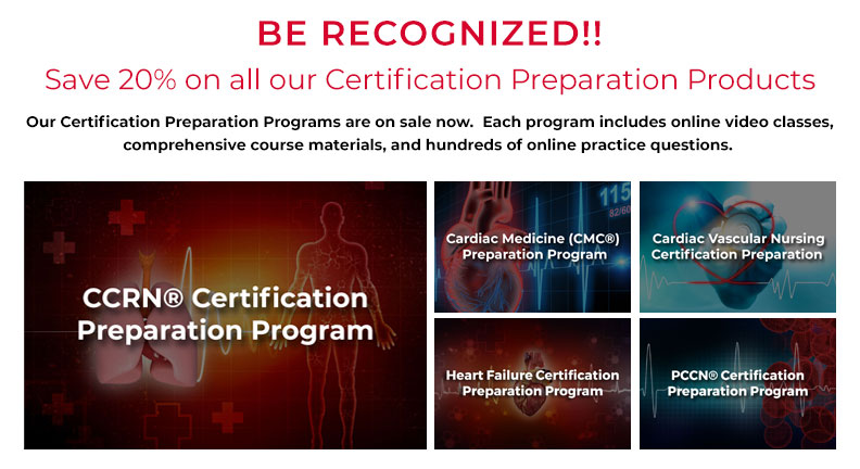 Certification Preparation Program Sale